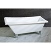 "Kingston Brass Aqua Eden 67"" x 29.5"" Soaking Bathtub"