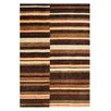 Metro Lane Summer Hand-Knotted Wool Brown Rug