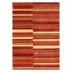 Metro Lane Summer Hand-Knotted Wool Terracotta Rug
