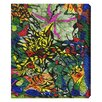 Oliver Gal 'Forest Fire' by Manuel Roman Art Print Wrapped on Canvas