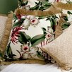Hanalei Home Orchids Throw Pillow