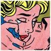 Castleton Home 'Kiss' by Lichtenstein Graphic Art