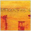Castleton Home 'Armgart-Orange Landscape' by Richter Painting Print