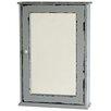 Castleton Home Mirrored Door Wall Cabinet