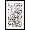 'Honeycombs' Framed Painting Print