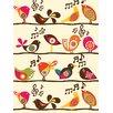 Art Group D - Singing Birds Valentina Ramos Canvas Wall Art