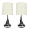 MiniSun 34cm Touch Table Lamp (Set of 2)