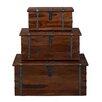 Woodhaven Hill Deborah 3 Piece Storage Trunk