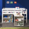 Vipack Spielbett Pino mit Schreibtisch und Regal, 90 x 200 cm