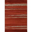 House Additions Saone Red Area Rug