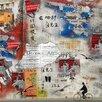 DEInternationalGraphics Promenade Urbaine by Marie-Laure Vareilles Graphic Art Plaque