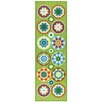House Additions Toulon Green/Blue Area Rug