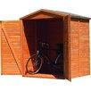 dCor design 1,7 m x 0,8 m Fahrradgarage Bergamo