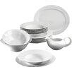 Seltmann Weiden Monaco White 16 Piece Dinnerware Set