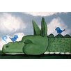 Marmont Hill 'Sleepy Dragon' by Andrea Doss Art Print Wrapped on Canvas