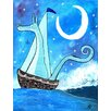 Marmont Hill 'Dragon Boat' by Andrea Doss Art Print Wrapped on Canvas