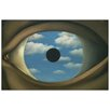 Castleton Home 'The False Mirror' by Magritte Graphic Art
