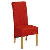 Hallowood Furniture Oak Upholstered Dining Chair