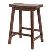 Titus Furniture Adjustable Height Swivel Bar Stool