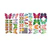 Walplus 3D Colourful Butterfly Wall Sticker