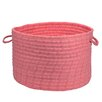 Lark Manor Nathanael Solid Fabric Storage Basket