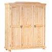 House Additions Stone 3 Door Wardrobe