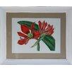 Castleton Home Tropical Flowers II Framed Graphic Art