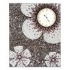 Castleton Home Mosaic Glass Wall Clock