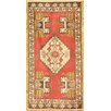 Pasargad NY Hand-Knotted Red Area Rug