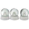 The Seasonal Aisle 3 Piece Snow Globe Set (Set of 3)