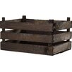 Castleton Home Large Rustic Wooden Crate