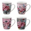 Wildon Home Polly 4 Piece Mug Set