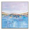 Artist Lane 'Harbour' by Gary Butcher Framed Art Print on Wrapped Canvas