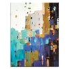 Artist Lane 'Windows of Opportunities' by Catherine Fitzgerald Art Print Wrapped on Canvas