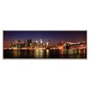 Artist Lane 'Manhattan Panoramic' by Andrew Paranavitana Photographic Print Wrapped on Canvas