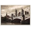 Artist Lane 'Princess Bridge' by Andrew Paranavitana Framed Photographic Print on Wrapped Canvas
