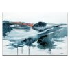 Artist Lane 'A Lighter Shade of Winter' by Lydia Ben-Natan Art Print on Wrapped Canvas
