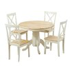 Breakwater Bay Bartett Extendable Dining Set with 4 Chairs