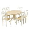 Breakwater Bay Bartett Extendable Dining Set with 6 Chairs