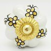 G Decor Flower Knob (Set of 4)
