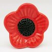 G Decor Poppy Flower Knob (Set of 4)
