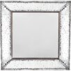 Lark Manor Traditional Square Glass Wall Mirror