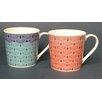 Just Mugs Dorset Oriental Geo Mug (Set of 6)
