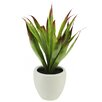Artificial Agave Succulent Desk Top Plant in Pot