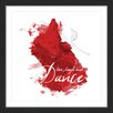 Marmont Hill 'Dance Splatter' by Alison Petrie Framed Painting Print