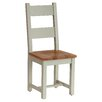 Hazelwood Home Oakham Expressions Solid Wood Dining Chair (Set of 2)