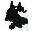 Decohides Black/White Area Rug