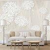 Artgeist Creamy Dantiness 2.1m x 300cm Wallpaper