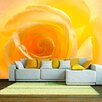 Artgeist The Yellow Rose 2.7m x 350cm Wallpaper