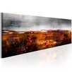 Artgeist Autumn Field Graphic Art Print on Canvas